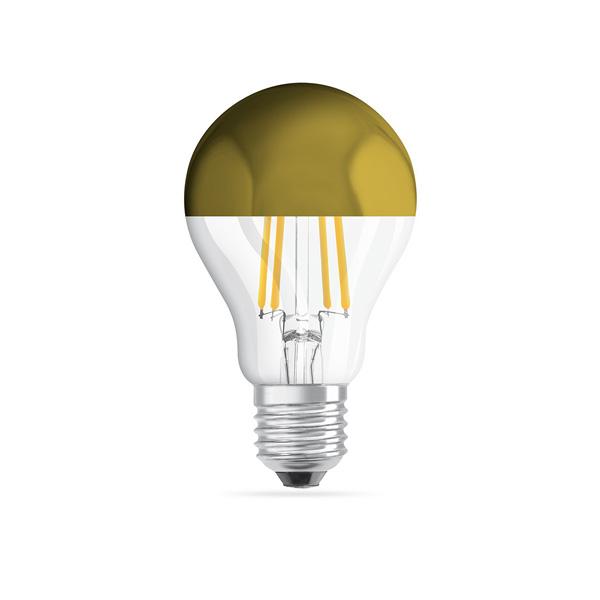 LED ŽARULJA Zlatno sjenilo A60 E27 4W 4...