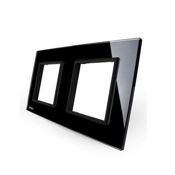 Livolo stakleni panel za dvostruku utičnicu