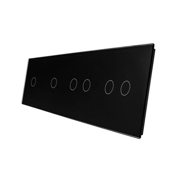Livolo stakleni panel za prekidač 1+1+2+2