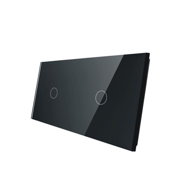 Livolo stakleni panel za prekidač 1+1