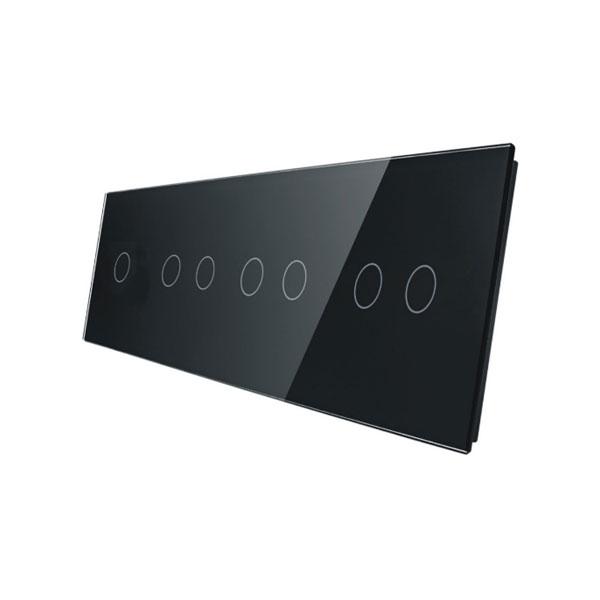 Livolo stakleni panel za prekidač 1+2+2+2