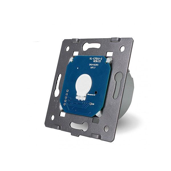 Livolo touchscreen zidni jednostruki prekidač  s daljinskom kontrolom i regulacijom osvjetljenja / dimmer