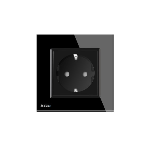 Livolo utičnica kristalno staklo