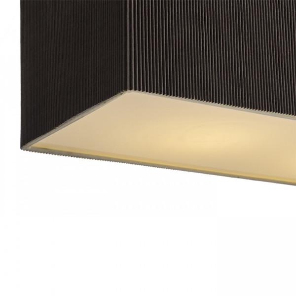 LOPE Viseće svjetlo s plisiranim sjenilom - 4xE27
