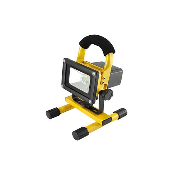 PRIJENOSNI PUNJIVI LED REFLEKTOR 10W SA STALKOM I UTIKAČEM AC220-240V IP44 6000K