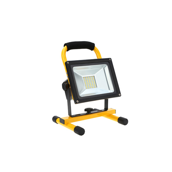 PRIJENOSNI PUNJIVI LED REFLEKTOR 20W SA STALKOM I UTIKAČEM AC220-240V IP44 6000K