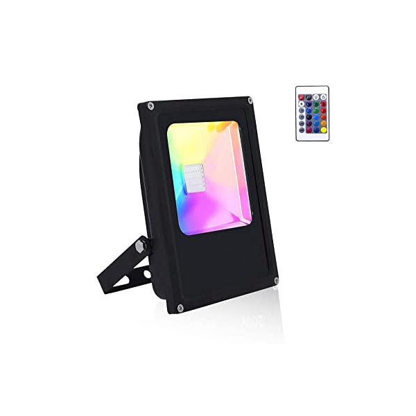 RGB LED REFLEKTOR 30W IP66 S DALJINSKIM UPRAVLJAČEM