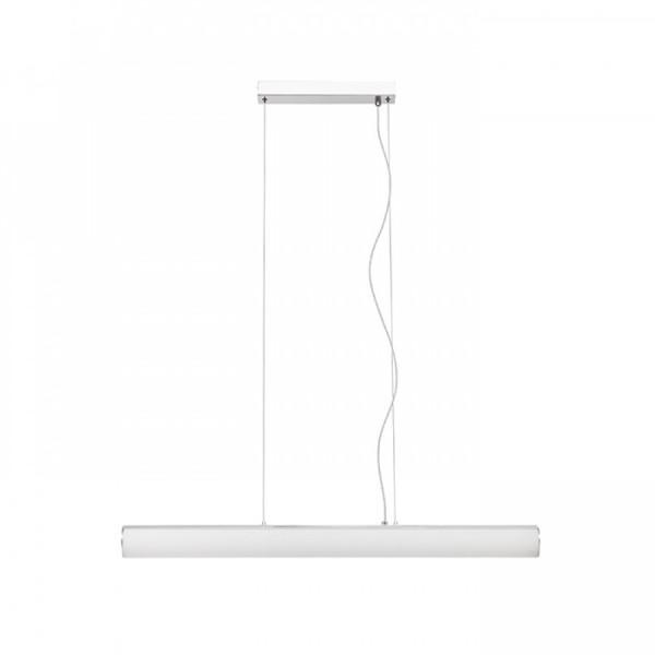 SAMBA LED visilica cijev opal staklo /krom 230V 14W 3000K