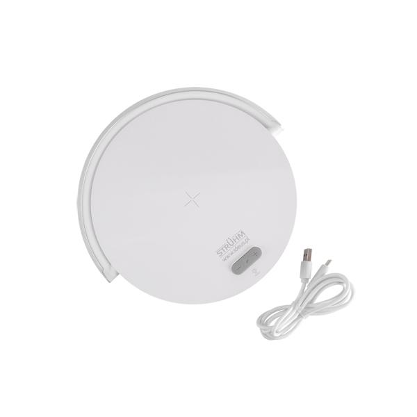 SATURN LED 3u1 – Stolna LED Svjetiljka, zvučnik, bežični punjač