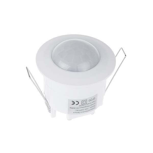 Infracrveni senzor pokreta i svjetla nadgradna montaža 360° Bijeli