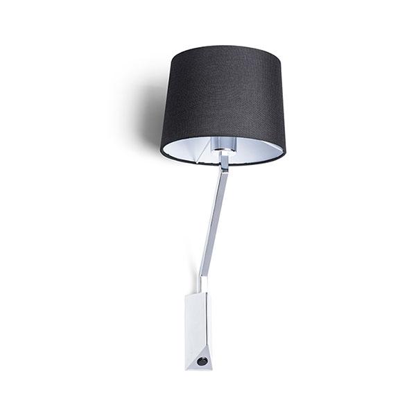 Sharp zidna LED svjetiljka krom 230V 42W E27 LED unutarnja rasvjeta R12481 Led žarulje - LED rasvjeta