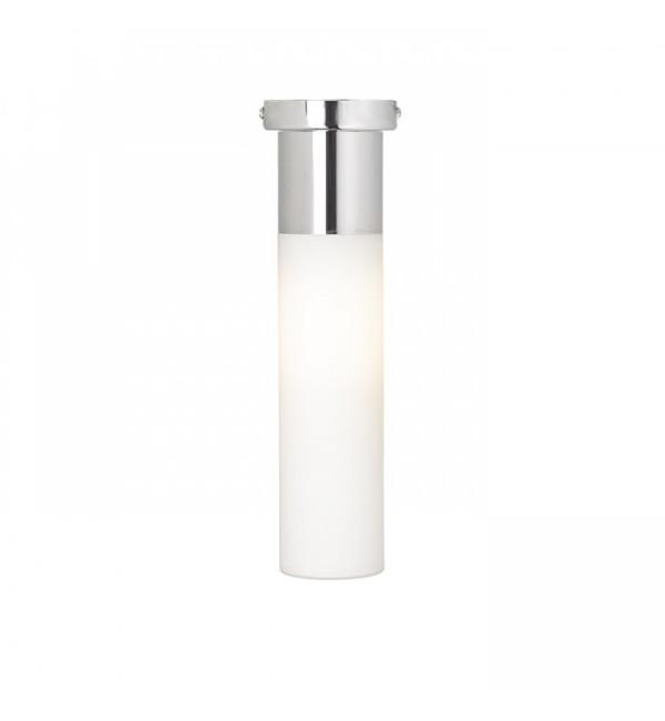 Stropna svjetiljka EIGHT opal staklo/krom 230V E27 28W IP44
