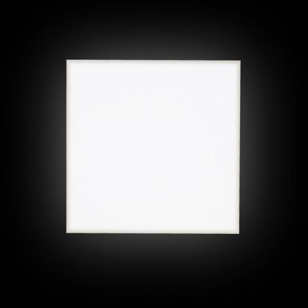 Structural 40 LED visilica satensko staklo 40x40 230V 2G11 2x24W