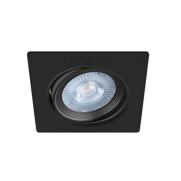 UGRADBENA  KVADRATNA STROPNA LED SVJETILJKA DOWNLIGHT SMD 5W MONI LED C podesivi kut rasvjete