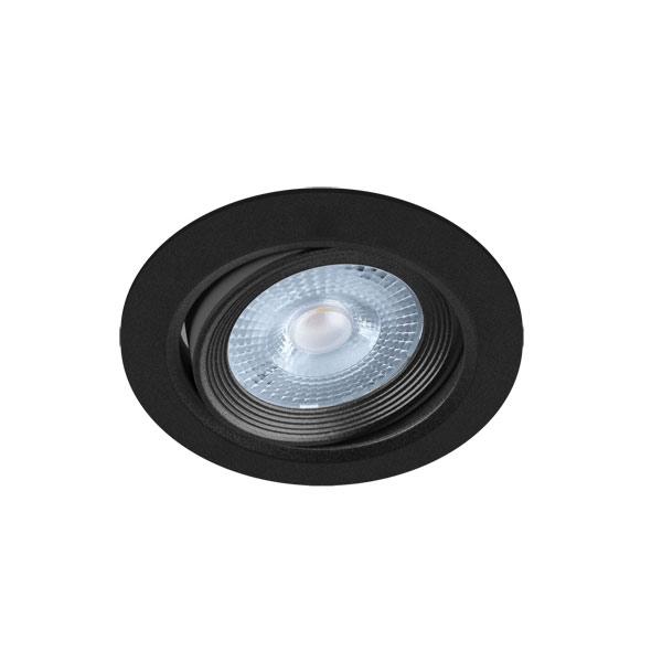 UGRADBENA  OKRUGLA STROPNA LED SVJETILJKA DOWNLIGHT SMD 5W MONI LED C podesivi kut rasvjete