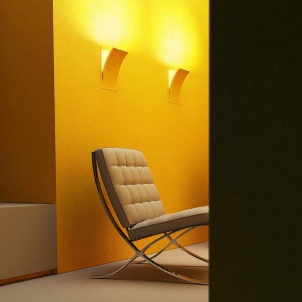 Ugradbena zidna LED svjetiljka SPIRIT 230V E14 28W 2700K za suhozid