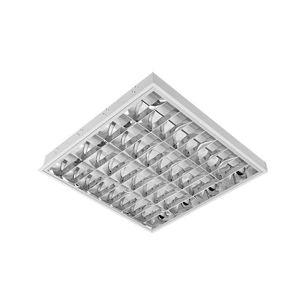 UGRADNA SVJETILJKA SA T8 LED CIJEVIMA(600MM) 4X9W BM 595/595 TIP V  SA PANIK MODULOM