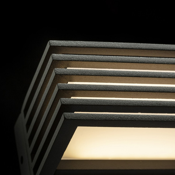 Vanjska LED zidna svjetiljka Claire 14 6W IP54 3000K