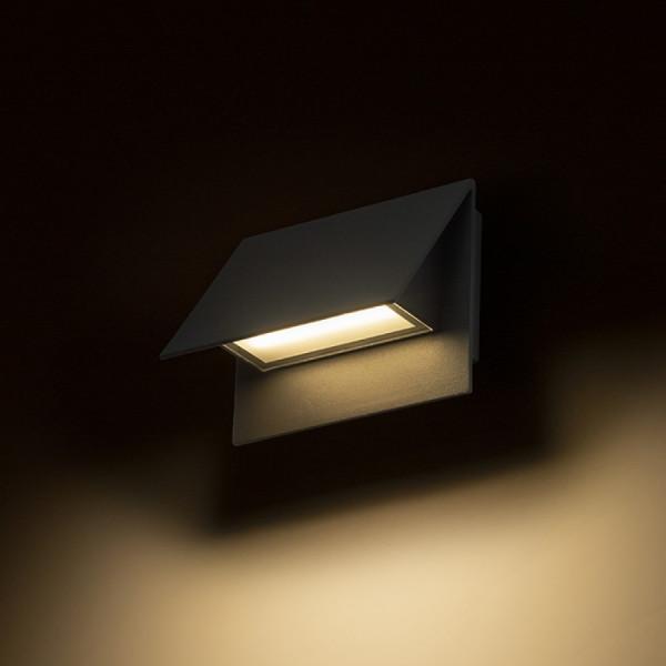 Vanjska LED zidna svjetiljka Geri 5W IP54 3000K