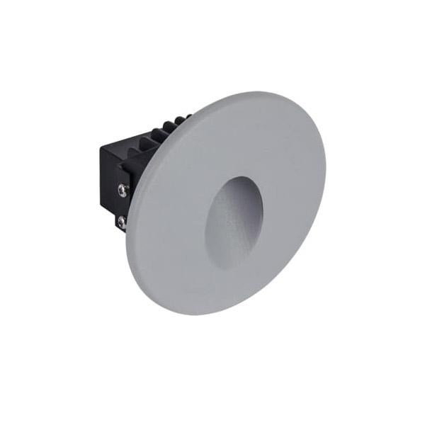 Vanjska zidna FASADNA LED SVJETILJKA okrugla AZYL LED C 1,6W 4000K IP54
