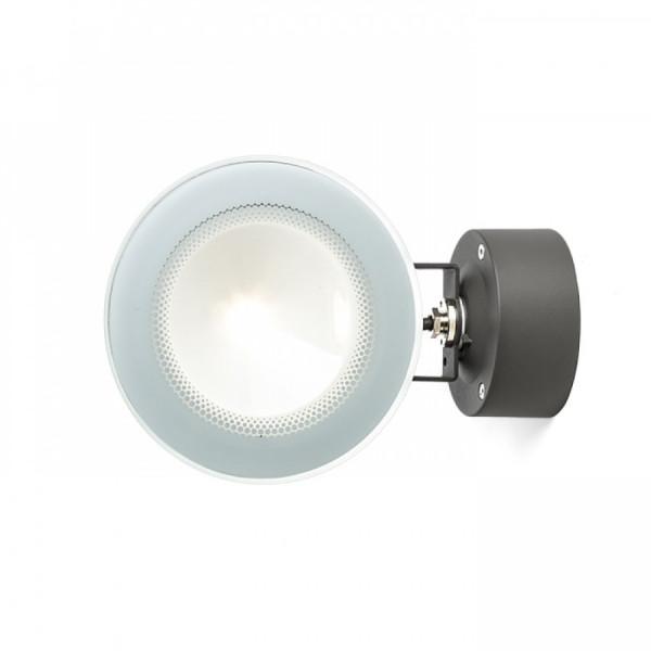 Vanjski LED zidni reflektor FOX antracit 230V LED 9W 120° IP65 3000K