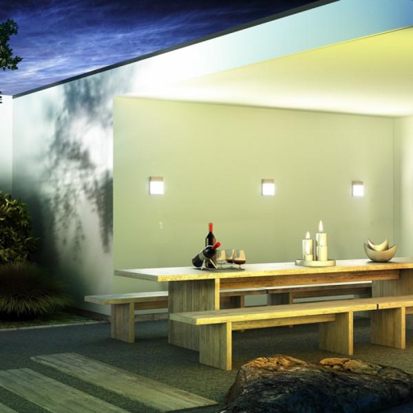 VERIA vanjska zidna led svjetiljka 230V 6W 3000K IP54
