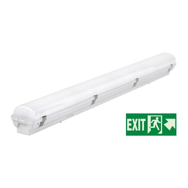 Vodotijesna led svjetiljka 120cm 40W 220-240V 3800LM 4500K IP65 Panic modul LED cijevi OT-6666 Led žarulje - LED rasvjeta