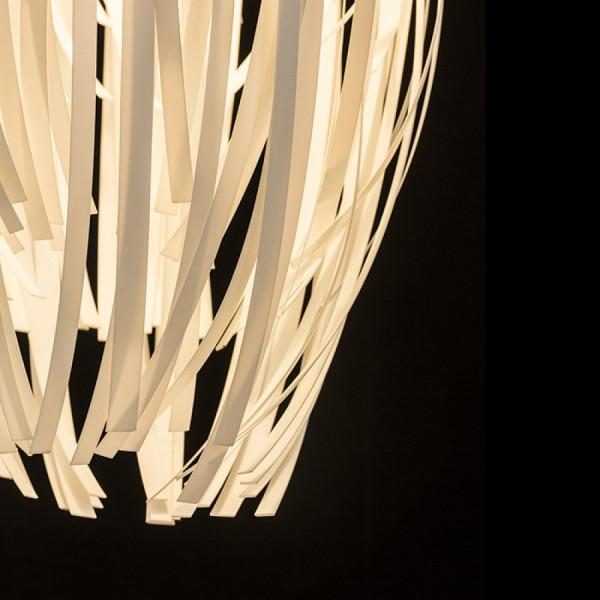 ZALA Viseća ukrasna svjetiljka od plastičnih traka 15W